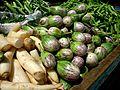 Baby Brinjal und weiteres Gemüse in Südindien.jpg