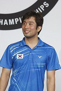 Jung Jae-sung Badminton player