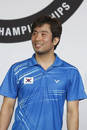 Jung Jae-sung - Image: Badminton jung jae sung