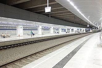 Vienna International Airport - The airport's railway station