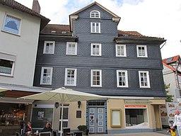 Bahnhofstraße in Frankenberg (Eder)