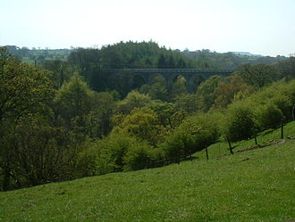 Baldersdale - The Balder Railway Viaduct near Cotherstone