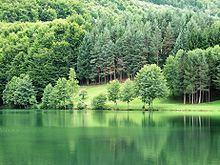 Paesaggio montano nei pressi di Mrkonjić Grad.