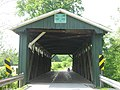 Ballard Road Covered Bridge, southern portal.jpg