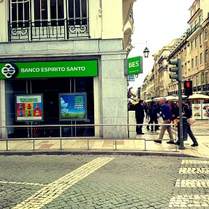 Banco Espírito Santo - Branch in Lisbon