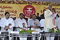 Bandaru Dattatreya addressing at the foundation stone laying ceremony of 06 bedded ESIC Hospital, at Patancheru, Medak District, in Telangana on December 29, 2015.jpg