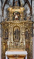 Barcelona Cathedral Interior - Altar of Saint Barnhard of Siena 1783-1785.jpg