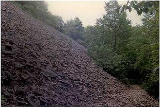 Holyoke Range - Talus slopes on Bare Mountain