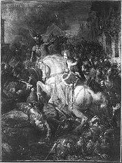 Anno 1417. Willem van Arkel sneuvelt
