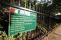 Barker Park sign in Troy, New York.jpg