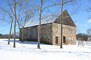 Lower Salford Township, Montgomery County, Pennsylvania - Barn at Heckler Farmstead