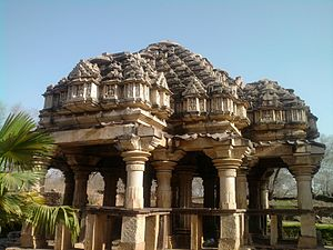 Baroli Temples - Sringar Chauri of the 10th-century Ghateshwara Mahadeva Temple