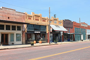 Bartlett, Texas - Bartlett Commercial Historic District