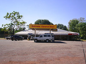 Batchelor, Northern Territory - The General Store and Post Office at Batchelor