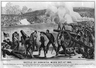 National Register of Historic Places listings in Hardeman County, Tennessee - Image: Battle of Corinth II