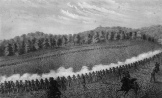 24th Illinois Volunteer Infantry Regiment - Battle of Perryville--the extreme left--Starkweather's brigade which included the 24th.
