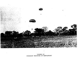 Bay of Pigs Invasion - Cuban defectors practicing parachute drops
