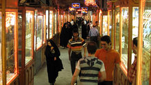 Bazaar of gold, tabriz.jpg