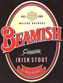 Логотип Beamish stout