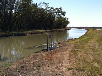 Balonne River - Image: Beardmore Channel