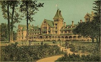 Hotel Del Monte - Original hotel, 1883