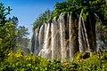 Beautiful waterfall in the park.jpg