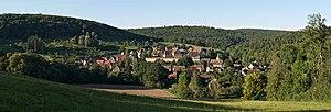 Bebenhausen - Bebenhausen from the South