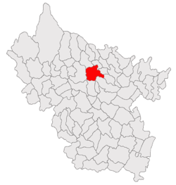 Location of Beceni