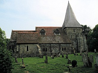 Beckley, East Sussex - Image: Beckley Church East Sussex