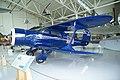 Beech D17A Traveler Staggerwing LSideFront EASM 4Feb2010 (14587753081).jpg