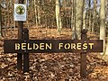 Belden Forest, Simsbury, CT - Entrance Sign (January 2021).jpg