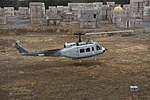 Bell UH-1H Huey with Autonomous Aerial Cargo Utility System lands at Marine Corps Base Quantico on 12 December 2017 (171212-N-PO203-155).JPG