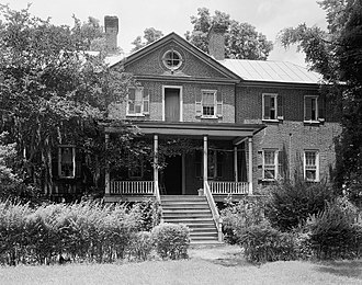 National Register of Historic Places listings in Craven County, North Carolina - Image: Bellair Plantation, New Bern (Craven County, North Carolina)