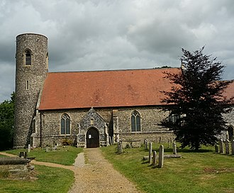 Belton with Browston - Image: Belton church