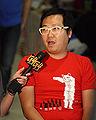 Ben Huh being interviewed by G4 at ROFLCon II 2.jpg