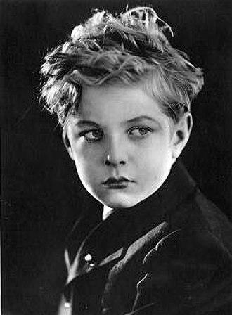 Ben Alexander (actor) - Ben Alexander as a child actor