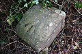 Bench Mark on a Wells Road milestone - geograph.org.uk - 1774190.jpg