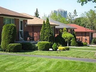 Bendale Neighbourhood in Toronto, Ontario, Canada
