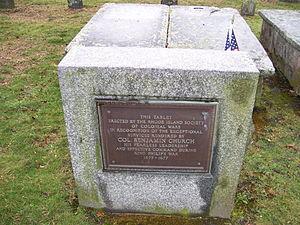 Benjamin Church (ranger) - Benjamin Church grave
