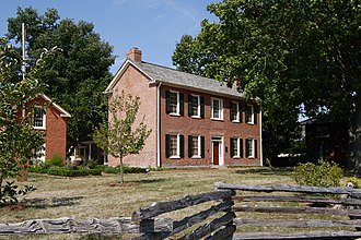 Benjamin Stephenson House - The fully restored Benjamin Stephenson House in 2007.