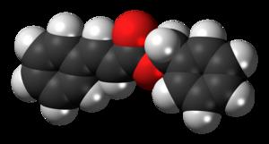 Benzyl cinnamate - Image: Benzyl cinnamate 3D spacefill