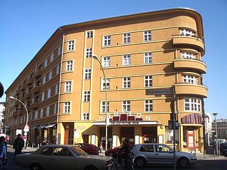 "Erich Mielke - The ""Babylon Cinema,"" the site of the assassinations of Captains Anlauf and Lenck, as it appears today."