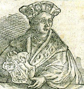 Bernard II, Duke of Saxony - Image: Bernhard II Sachsen (cropped)