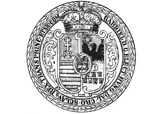 Gabriel Bethlen - Seal of Bethlen
