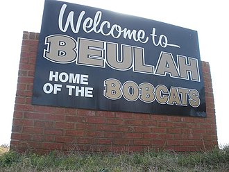 Beulah, Alabama - Image: Beulah Alabama Welcome Sign