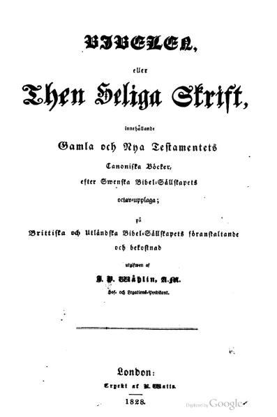 File:Bibelen eller den Heliga Skrift (1828).djvu