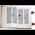 Biblia Gutenberg o 42 líneas. Facsímil de la Biblia de Gutenberg de Burgos. Vicent García Editores.png