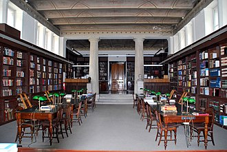 German Archaeological Institute at Athens - Reading room at the library