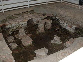 Bignor Roman Villa - Hypocaust