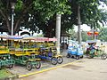 Bike rentals at Evergreen Park - 01.JPG